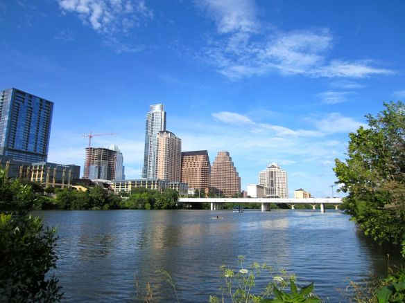 Lady Bird Lake in Austin (but what everyone still calls Town Lake)