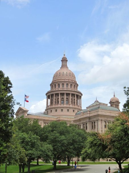 Renaissance Revival architecture of the Texas State Capitol in Austin