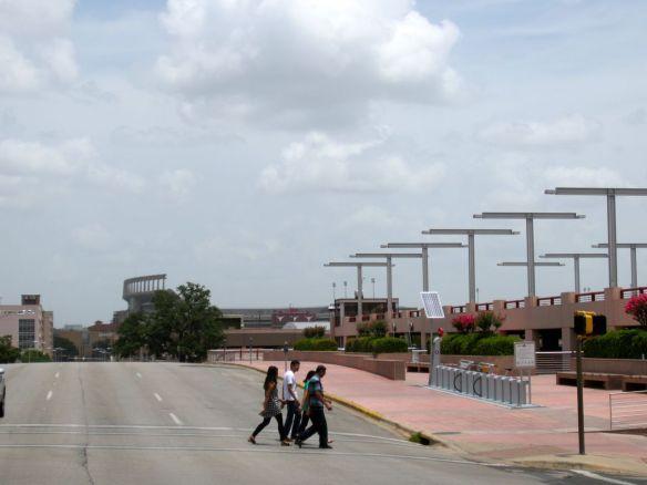 Texas Memorial Stadium at University of Texas in Austin.