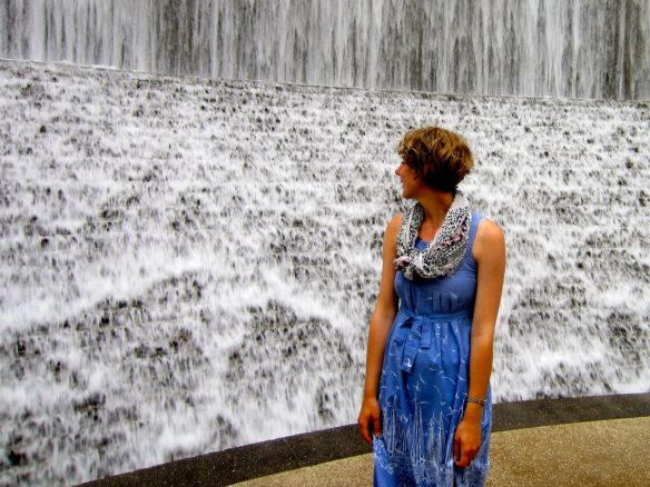 Standing by Waterwall