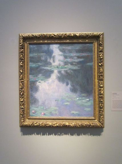 Water Lilies (Nymphéas) by Claude Monet, 1907.