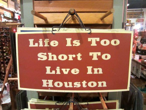 Houston sign