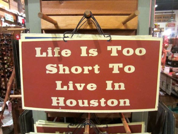 Houston sign