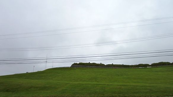 Partial view of Halifax Citadel National Historic Site.