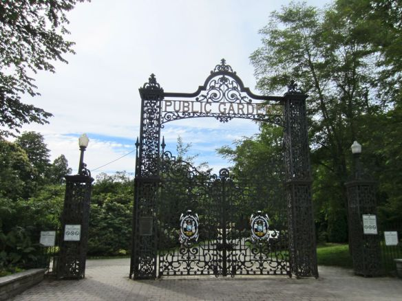Entrance to Halifax Public Gardens.